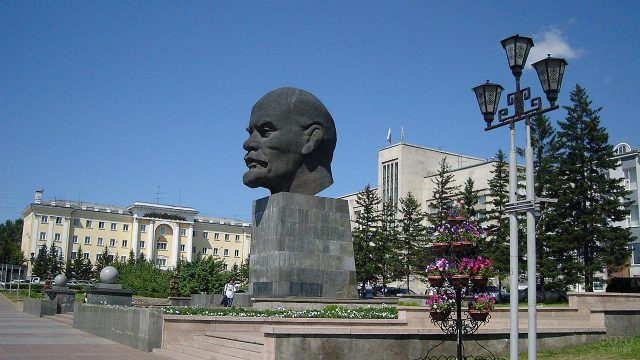 Голова Ленина в Улан-Удэ