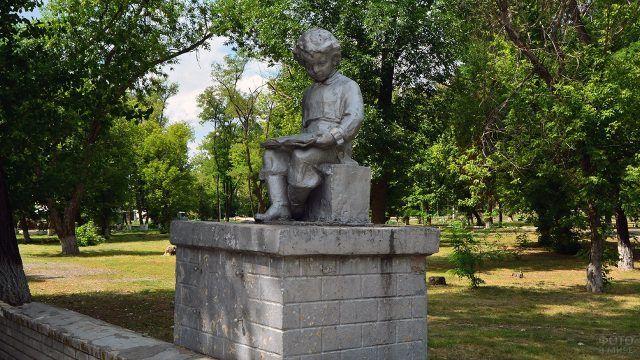 Каменск-Шахтинский памятник Володе Ульянову