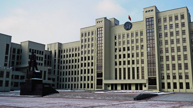 Минский памятник завода Монументскульптура 1945