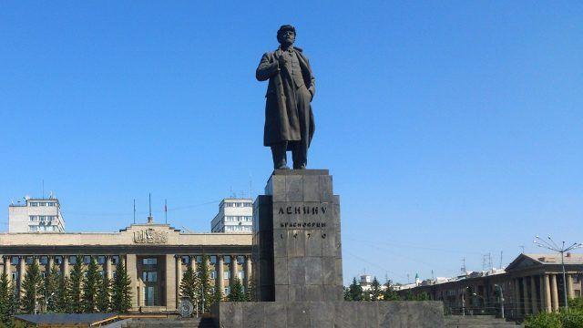 Площадь Революции в Красноярске