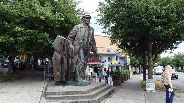 Сиэтлский памятник Ленину
