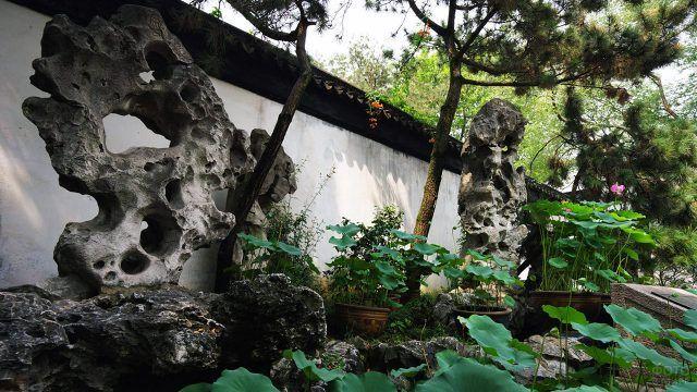 Каменный сад в китайском стиле