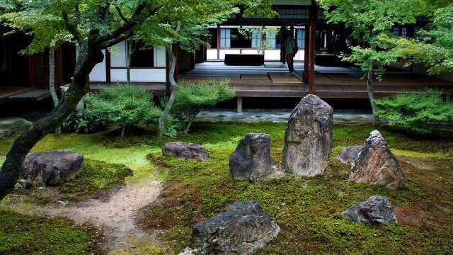Киотский классический сад камней