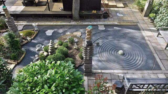 Ландшафтный дизайн с садом камней