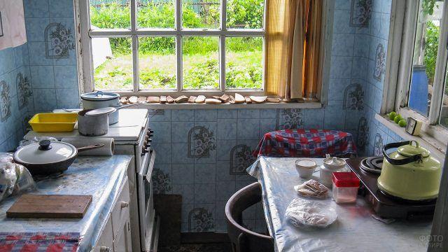 Дачная кухонька на участке 6 соток