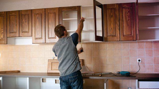 Сборка фасадов кухонной мебели