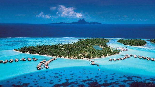 Отель во французской Полинезии