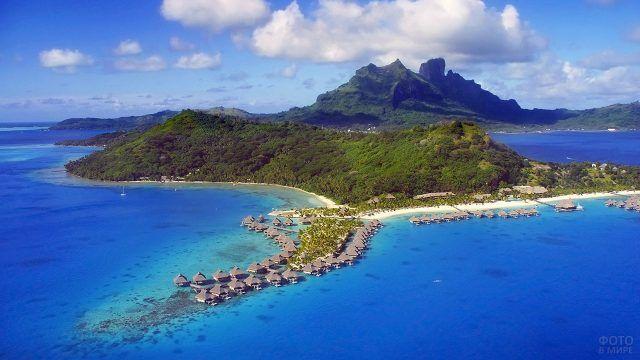 Природа острова Бора-Бора