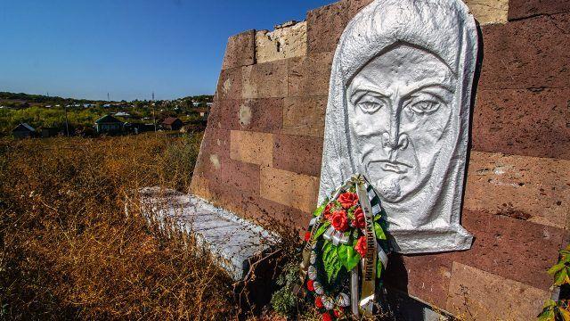 Фрагмент мемориала погибшим в ВОВ