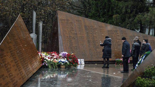 """Открытие мемориала """"Сад памяти"""", посвященного жертвам авиакатастрофы над Синаем"""