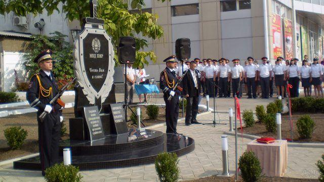 Памятник погибшим миллиционерам в Дубоссарах