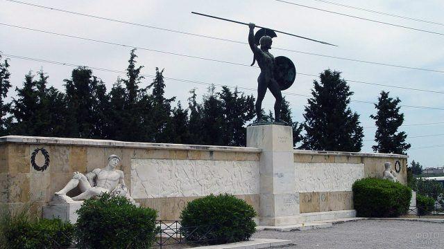 Памятник погибшим Спартанцам