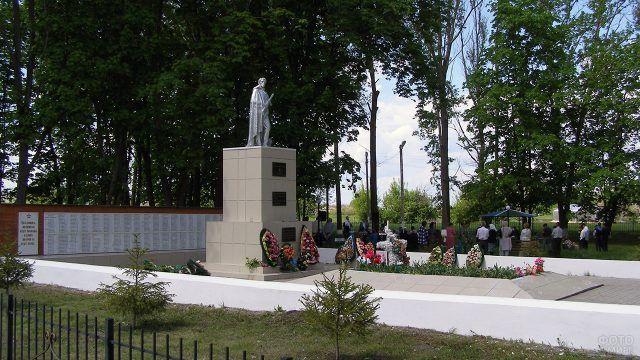 Памятник погибшим воинам ВОВ