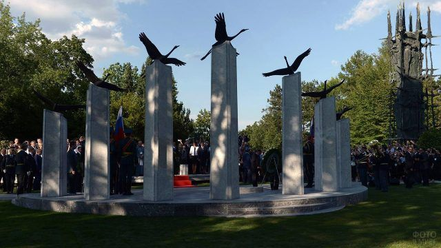 Памятник российским и советским воинам погибшим на территории Словении