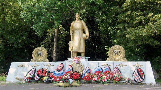 Памятник жителям города Спас-Клепики погибшим в годы ВОВ