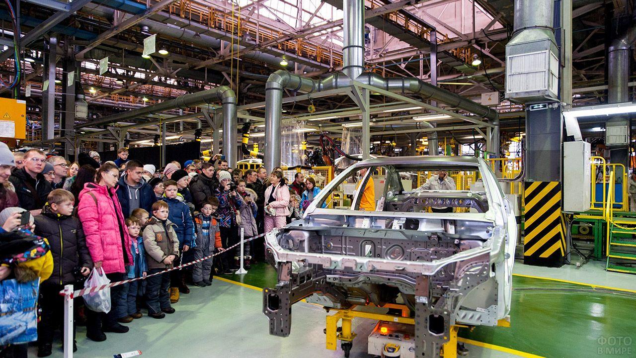 Экскурсия на Ижевский автомобильный завод
