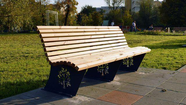 Парково-садовая городская скамейка
