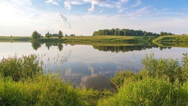 Красивая река в России