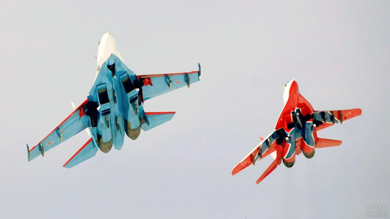 Показательное выступление боевых самолётов