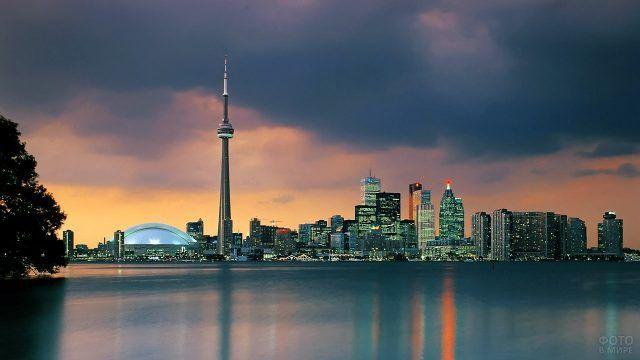 Торонто на закате