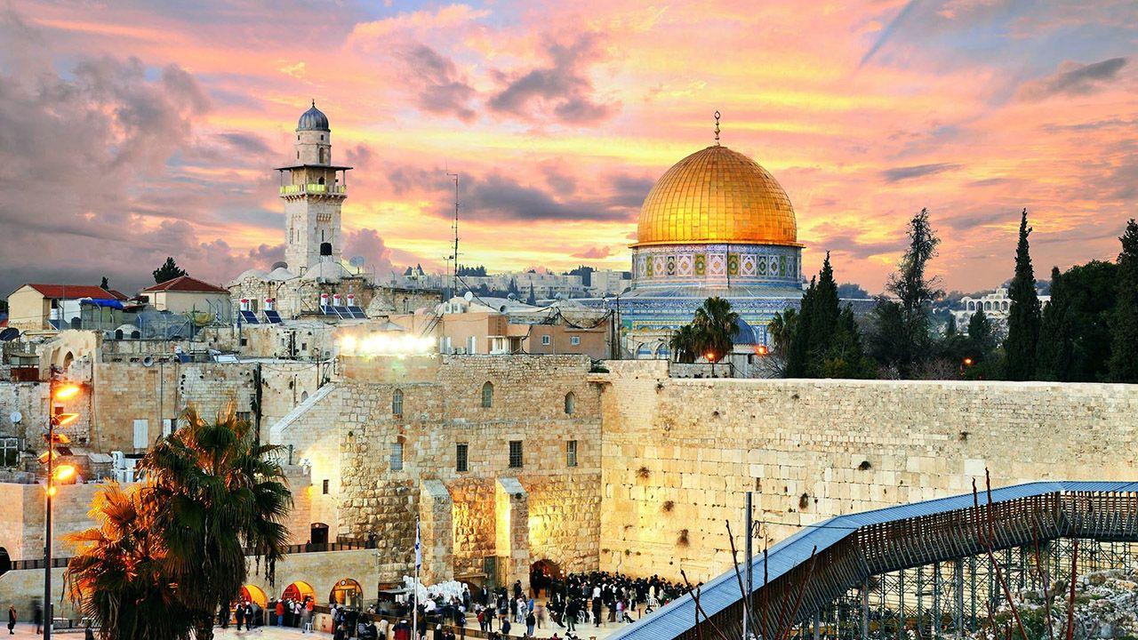 Закат над Иерусалимом