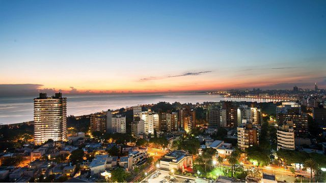 Закат над Монтевидео