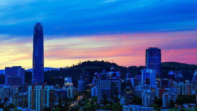 Закат над Сантьяго