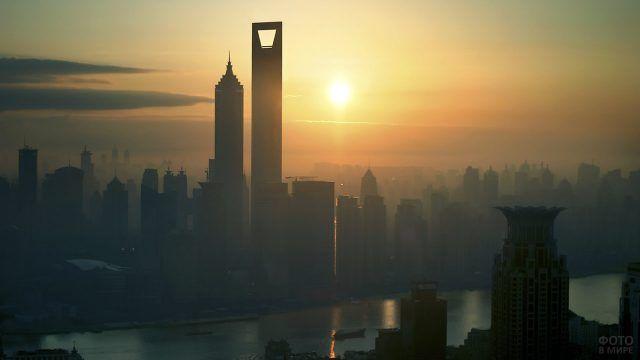 Закат над Шанхаем