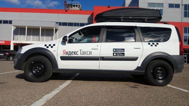 Такси с багажником на базе Лады Ларгус Кросс