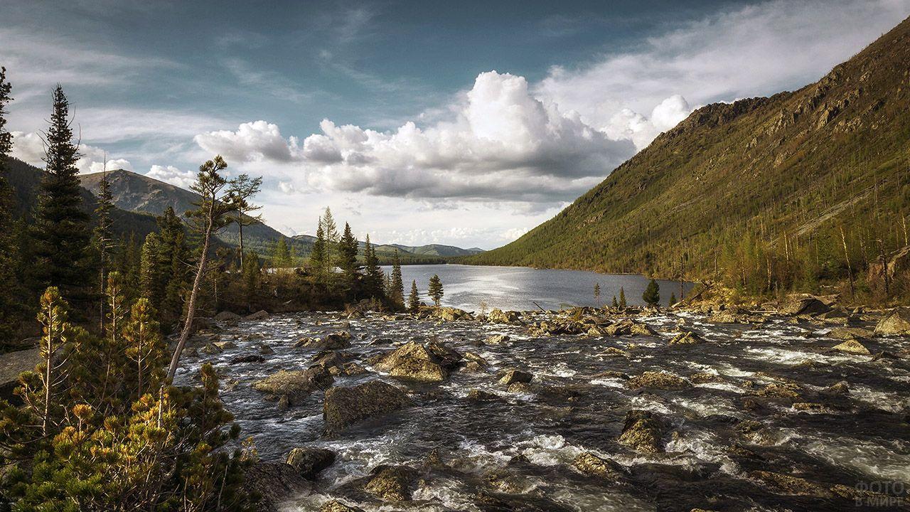 Мультинские озёра на Алтае