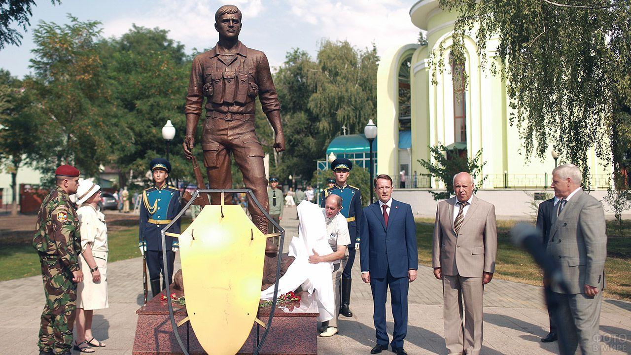 Открытие памятника воинам-афганцам в Воронеже