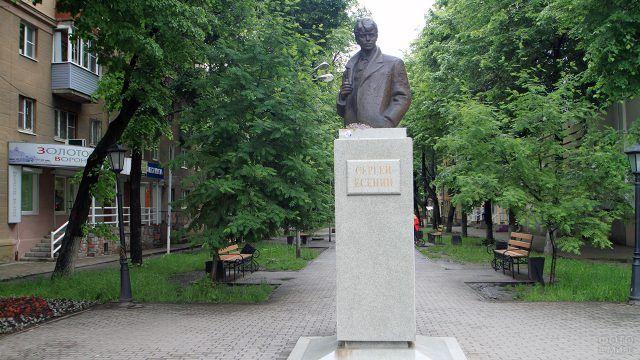 Памятник Есенину в Воронеже