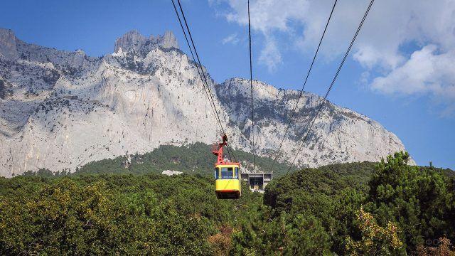 Подъёмник на вершину Ай-Петри в Крыму