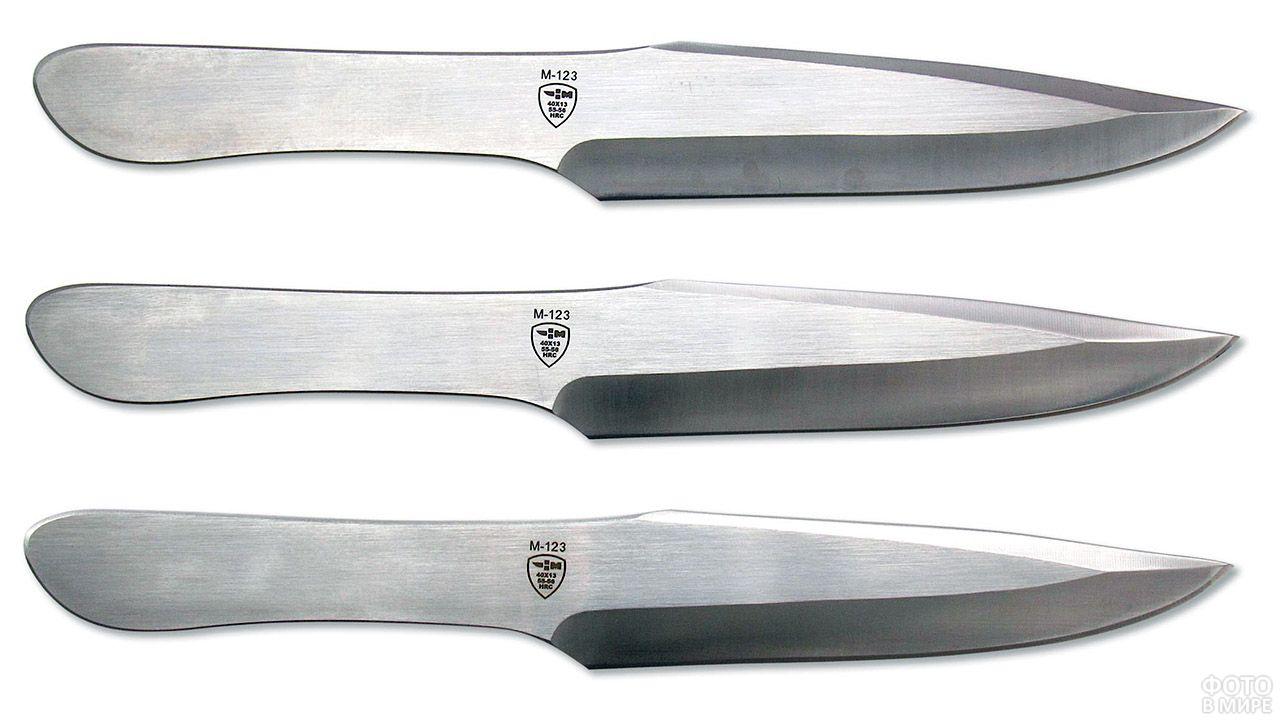 Набор ножей для спортивного метания