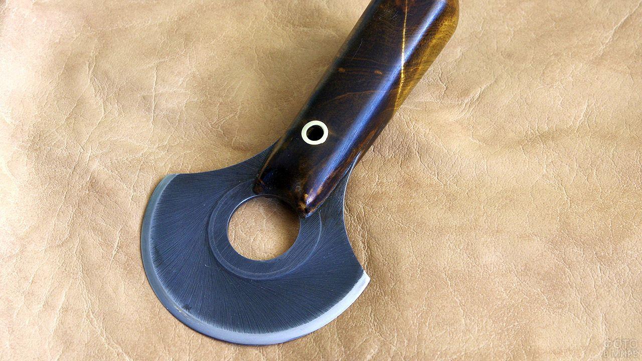 Нож улу - женский хозяйственный нож народов севера