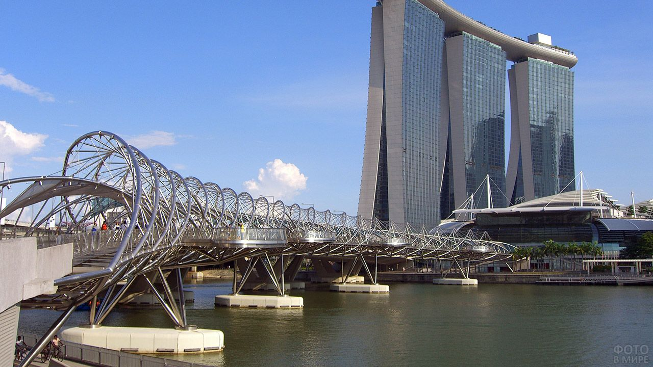 Мост Хеликс в Сингапуре