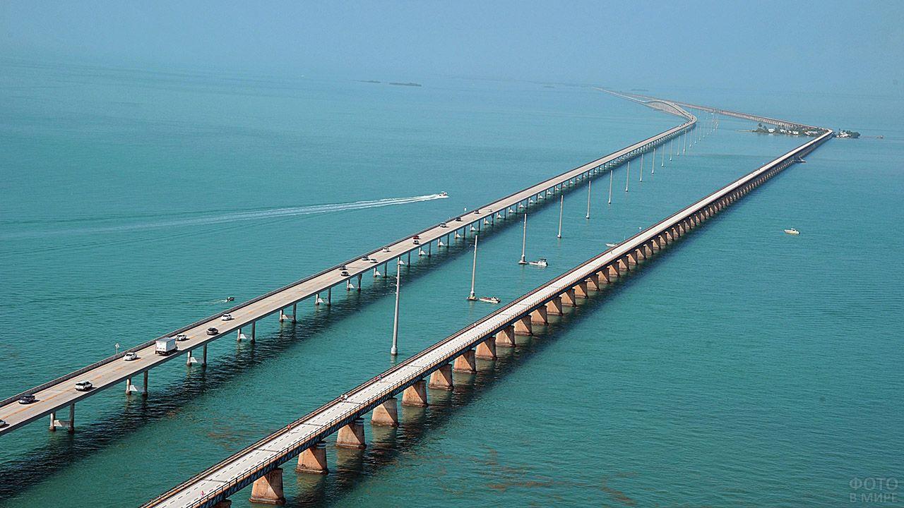 Мост Седьмая миля во Флориде