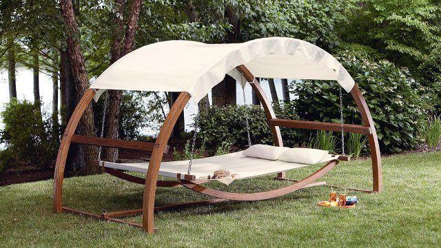 Дизайнерский гамак-качели для сада