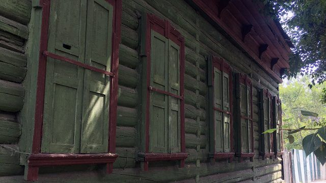 Деревянный дом Рассушина в Иркутске