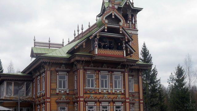 Дом-терем Сазонова после реставрации