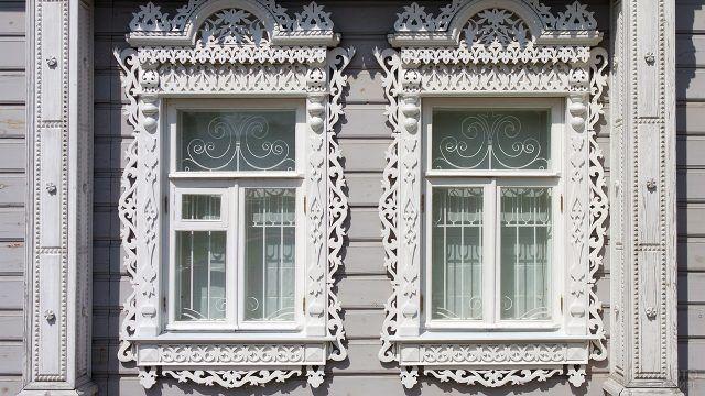 Кружевные окна старой Коломны