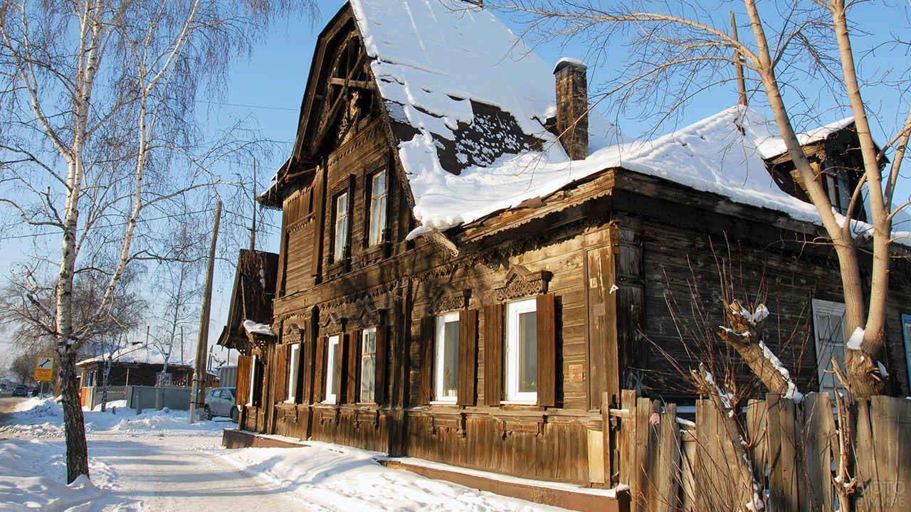 Памятник деревянного зодчества в Барнауле