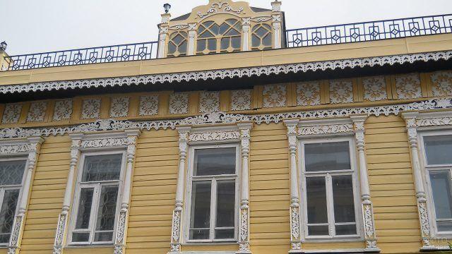 Памятник деревянного зодчества в Царёвококшайске