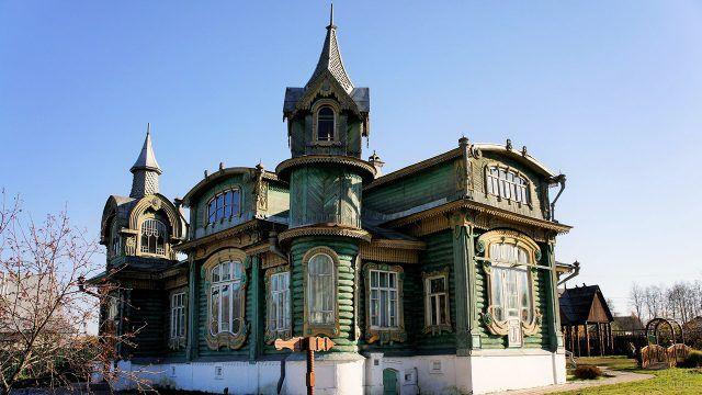 Шедевр деревянного модерна в Гороховце