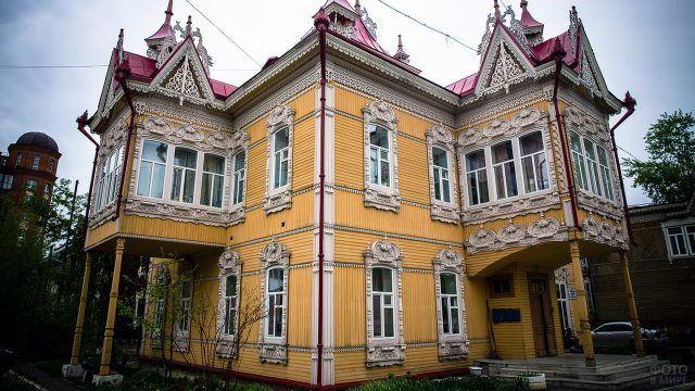 Шедевр деревянного зодчества Томска