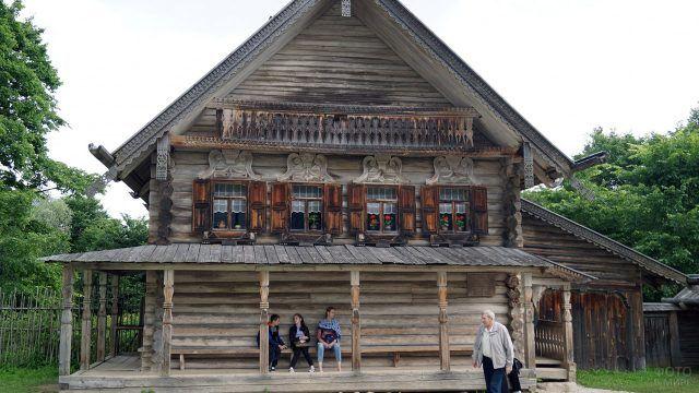 Витославлицы - музей деревянного зодчества