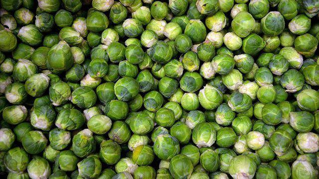 Много-много брюссельской капусты