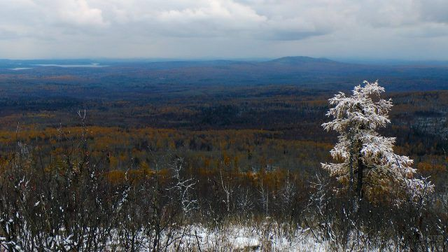 Начало зимы на Южном Урале