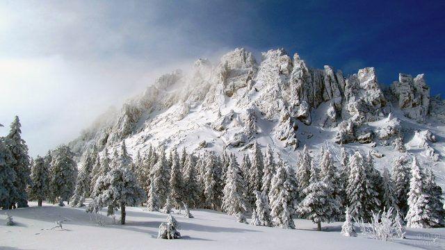 Снежный Таганай в марте