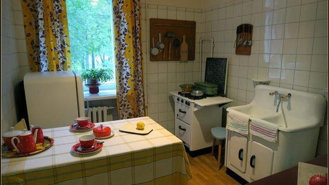 Кухня в московском доме-музее академика Королёва